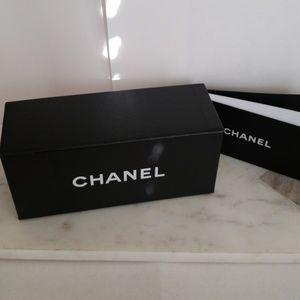 Chanel gift box/ sunglasses box & booklet